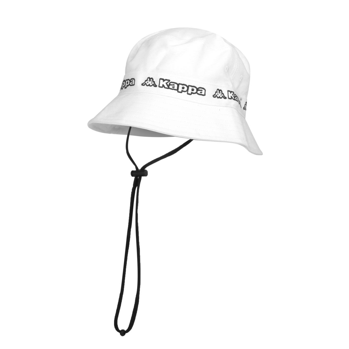 KAPPA 運動休閒帽 3115TYW-B55 - 白黑
