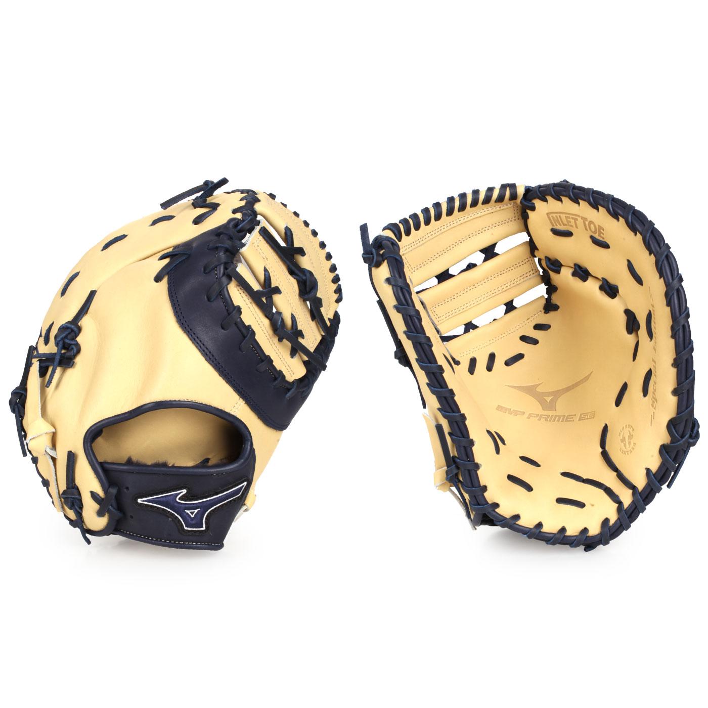 MIZUNO 硬式一壘手手套(右投) 312740-R151 - 淺卡其丈青