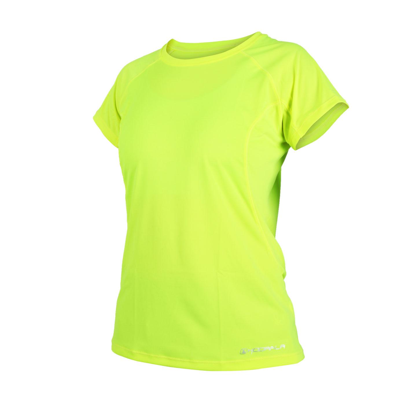 HODARLA 女款星悅無感短袖T恤 3135102 - 螢光黃