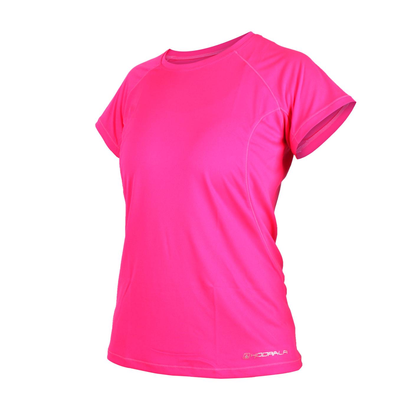HODARLA 女款星悅無感短袖T恤 3135102 - 透明粉紅