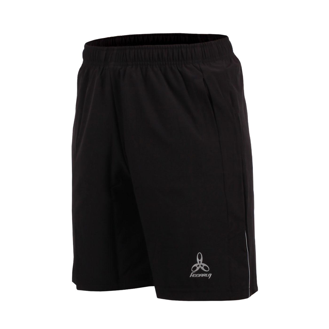 HODARLA 男-競技平織彈性短褲 3139001 - 黑