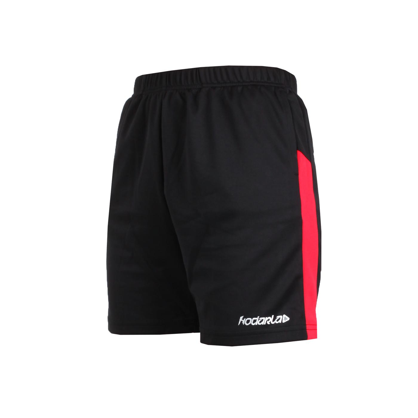 HODARLA 童-奔馳吸濕排汗運動短褲 3144601 - 黑紅