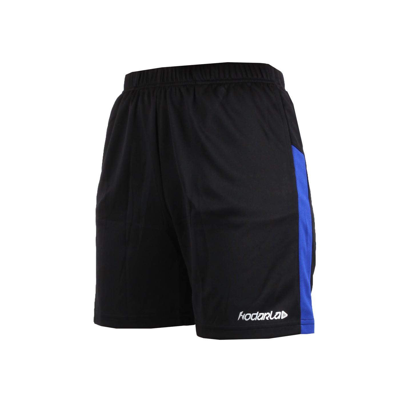 HODARLA 童-奔馳吸濕排汗運動短褲 3144601 - 黑藍