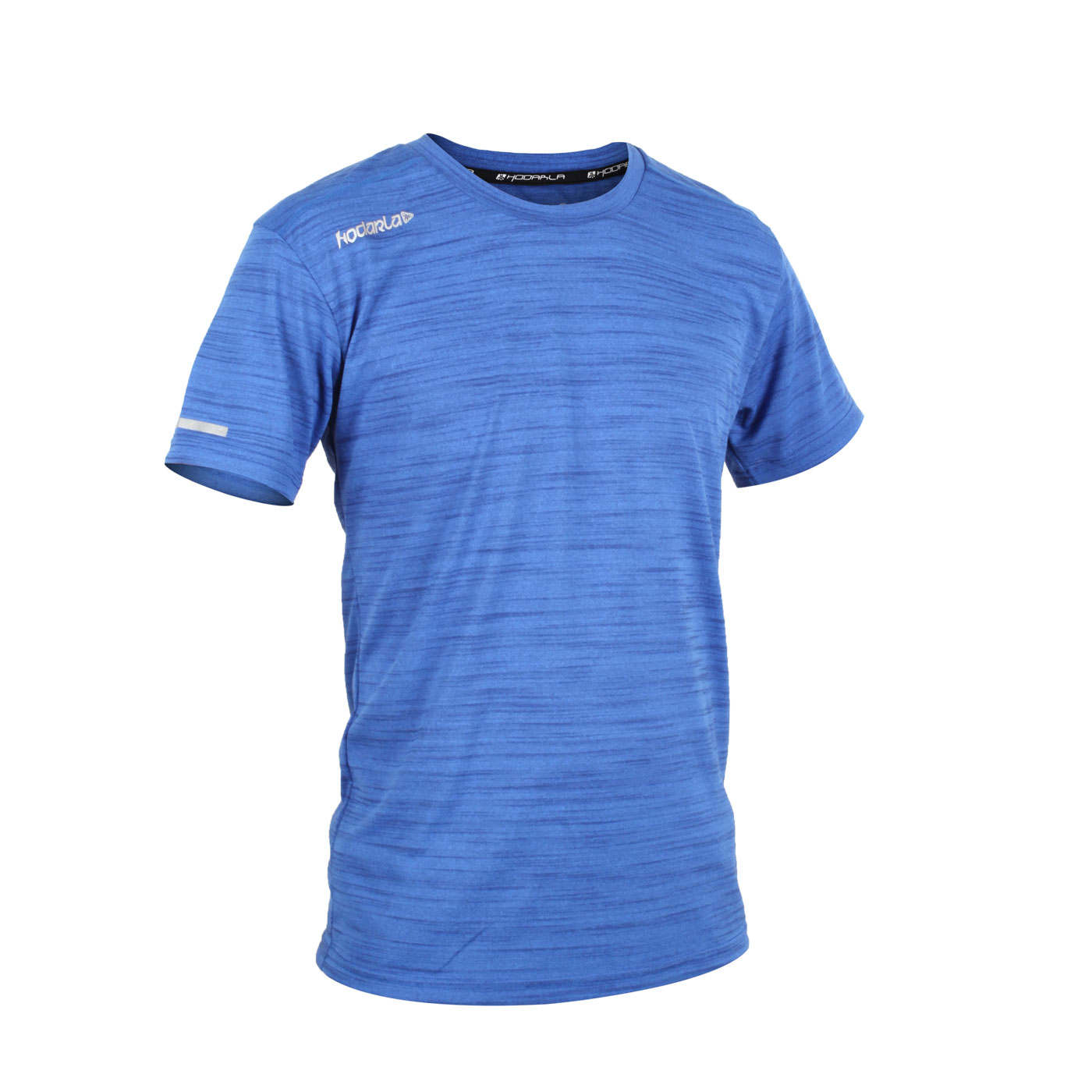 HODARLA 男-攀越針織短袖T恤 3147302 - 麻花藍