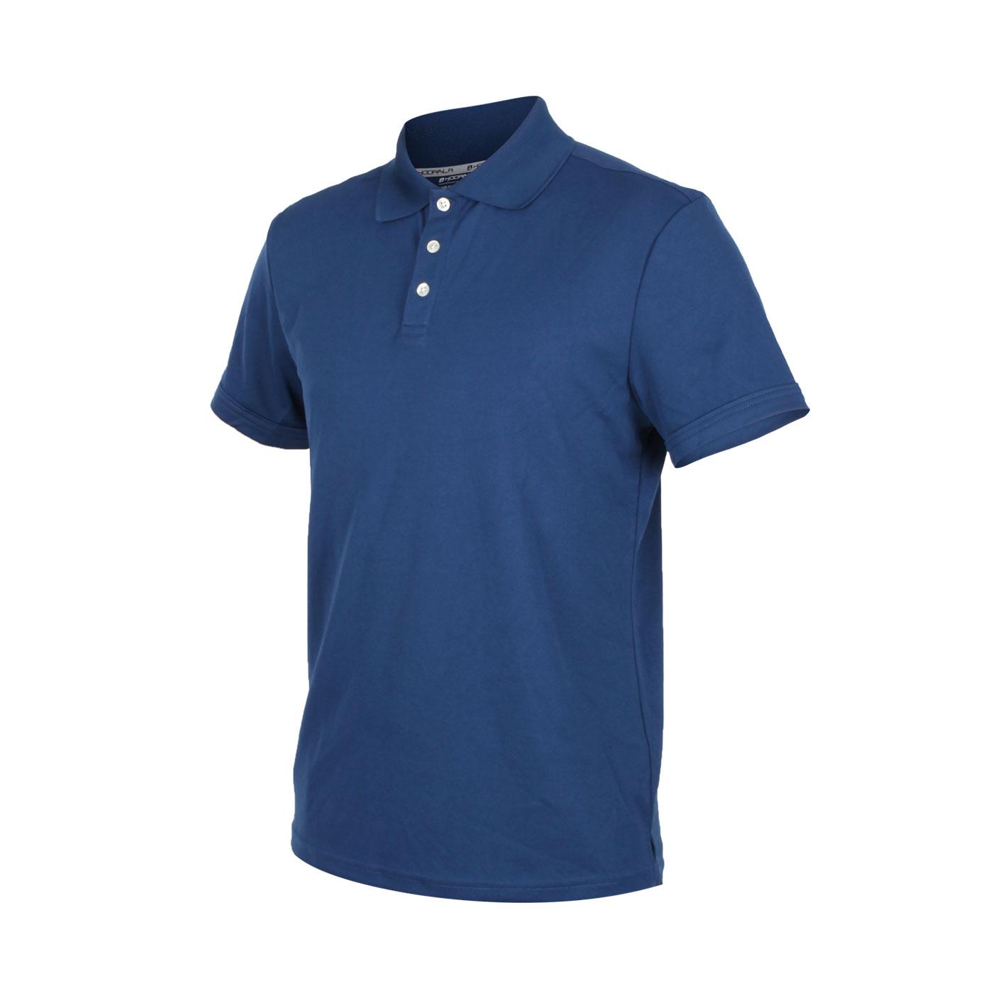 HODARLA 星際吸濕排汗短袖POLO衫 3151501 - 丈青