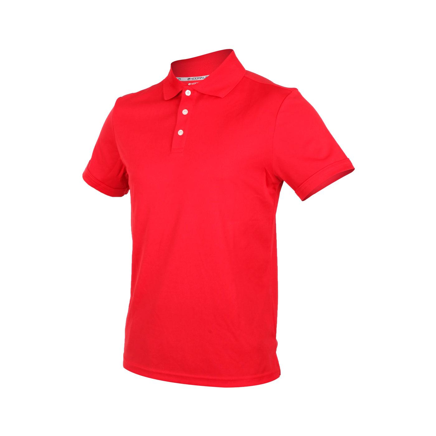 HODARLA 星際吸濕排汗短袖POLO衫 3151501 - 紅