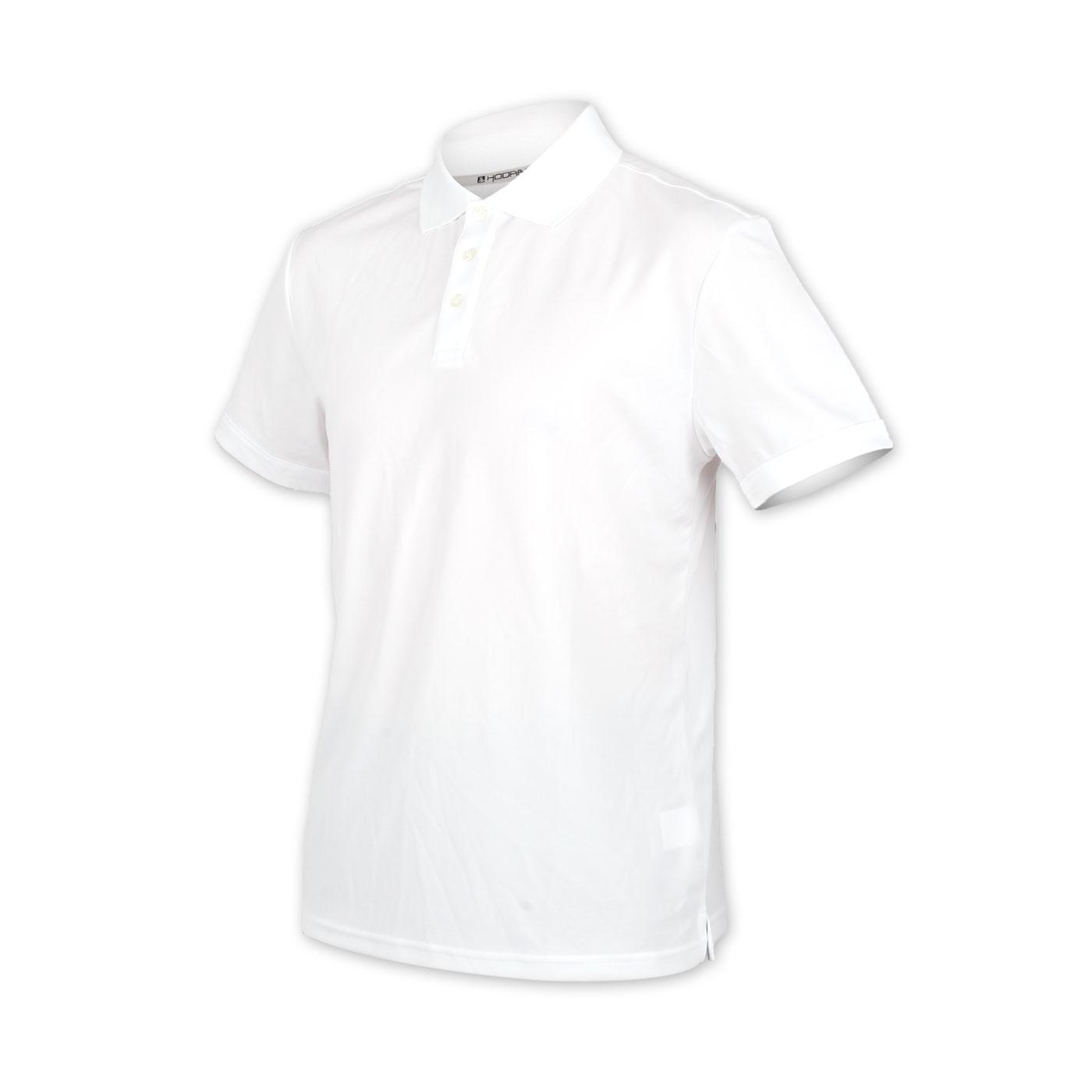 HODARLA 星際吸濕排汗短袖POLO衫 3151501 - 白