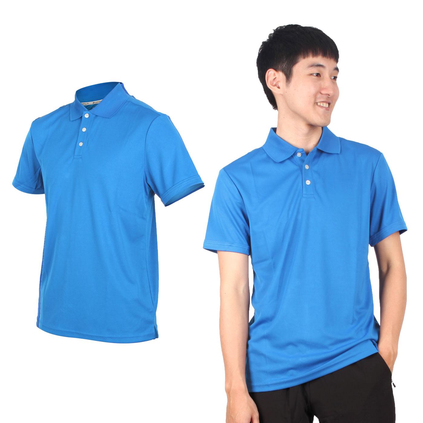 HODARLA 星際吸濕排汗短袖POLO衫 3151501 - 亮藍