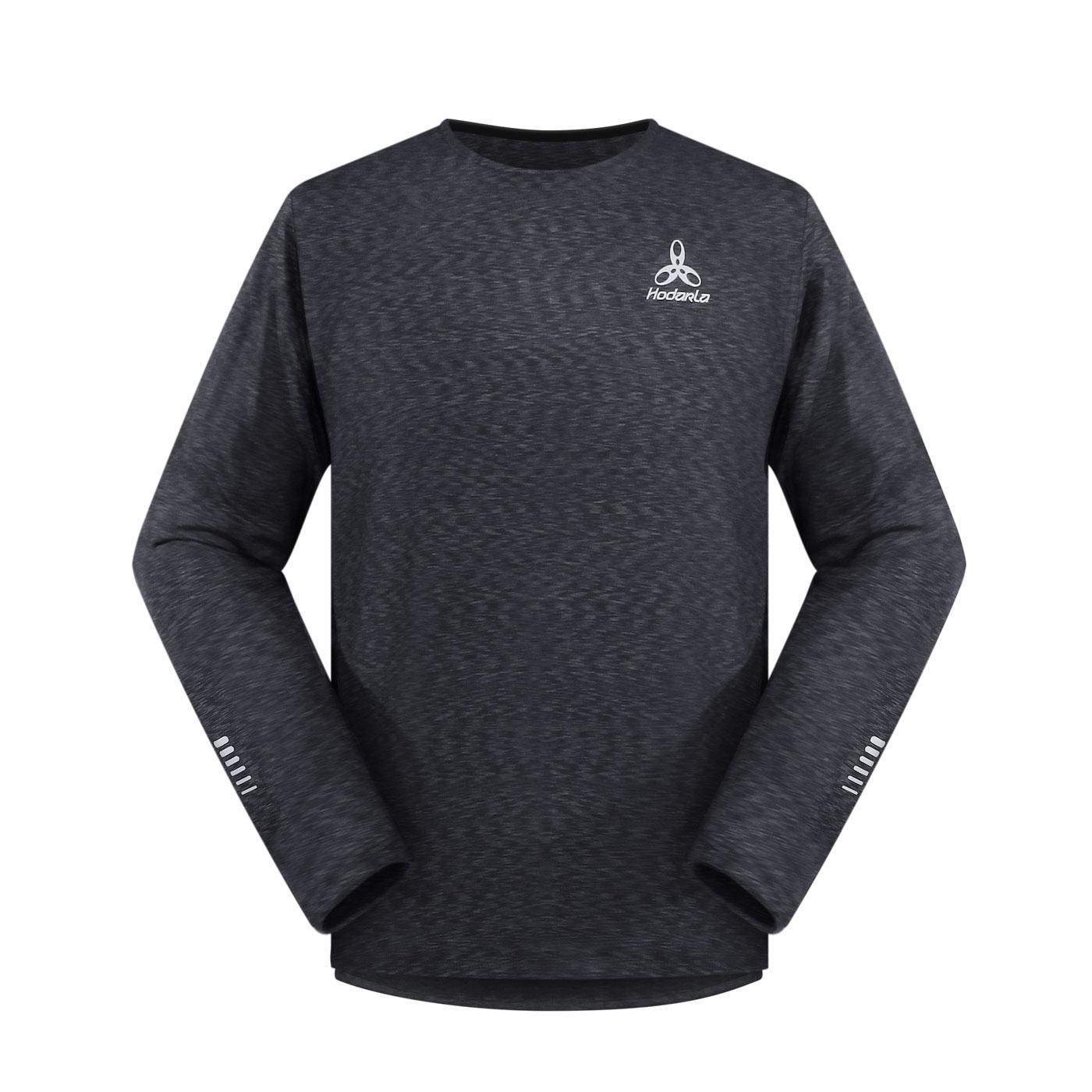 HODARLA 辰風保暖長袖T恤 3161401 - 麻花灰