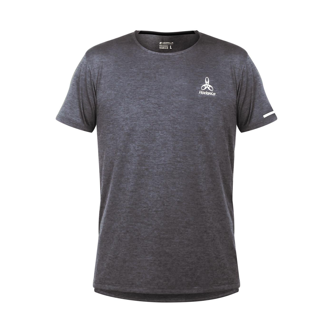 HODARLA 辰光剪接短袖T恤 3161501 - 麻花灰