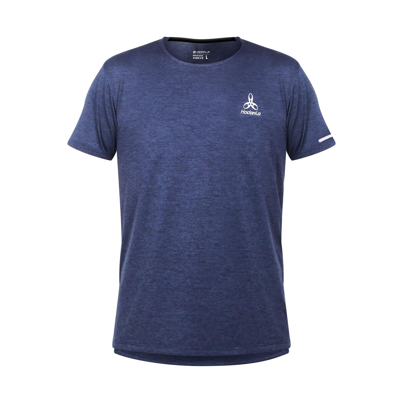 HODARLA 辰光剪接短袖T恤 3161501 - 麻花丈青