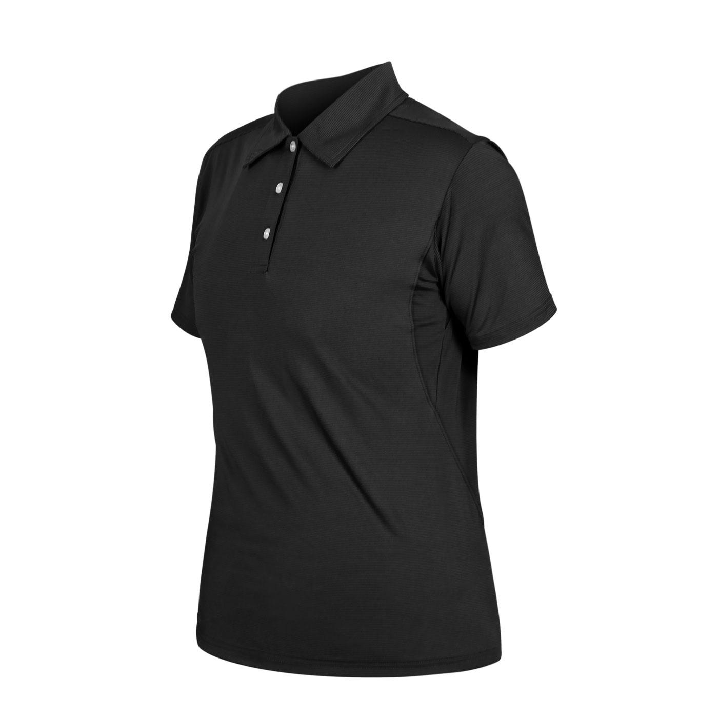 HODARLA 星魁剪接短袖POLO衫 3162101 - 黑條紋