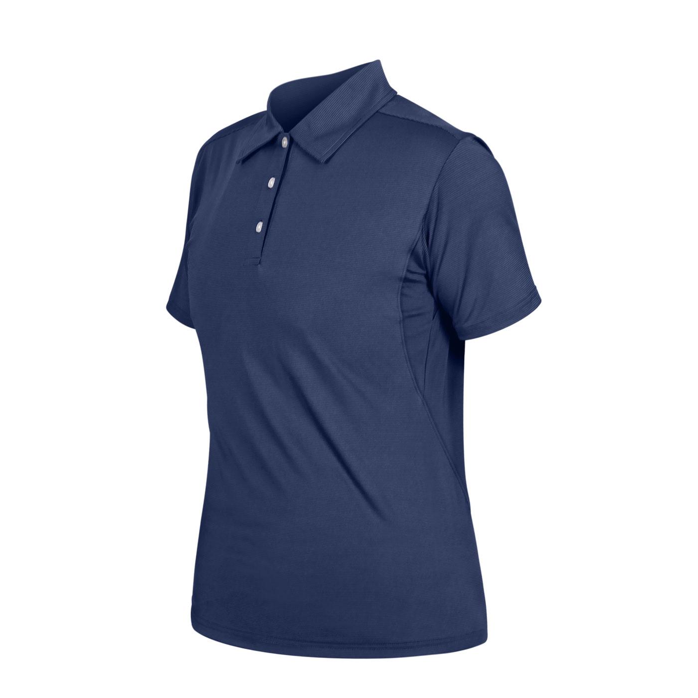 HODARLA 星魁剪接短袖POLO衫 3162101 - 丈青條紋