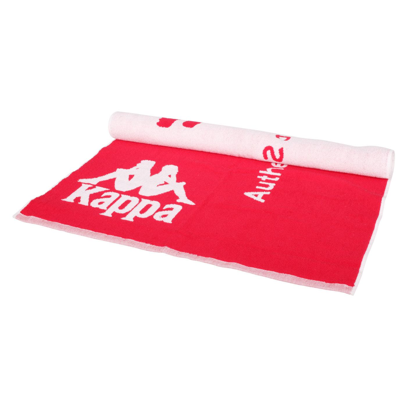 KAPPA 運動毛巾 32157QW-D18 - 紅白