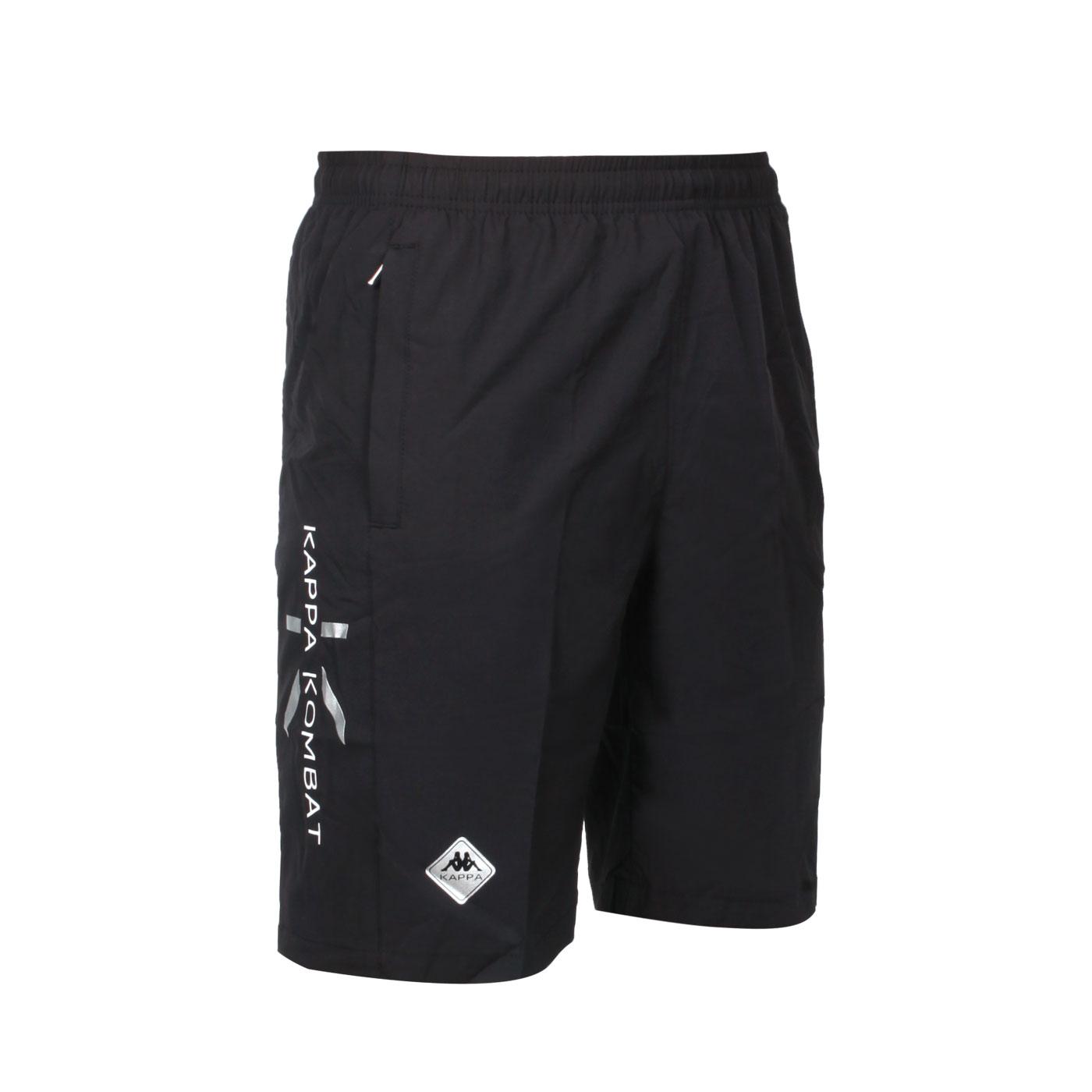 KAPPA 男款K4T單層半短褲 32166UW-005 - 黑白