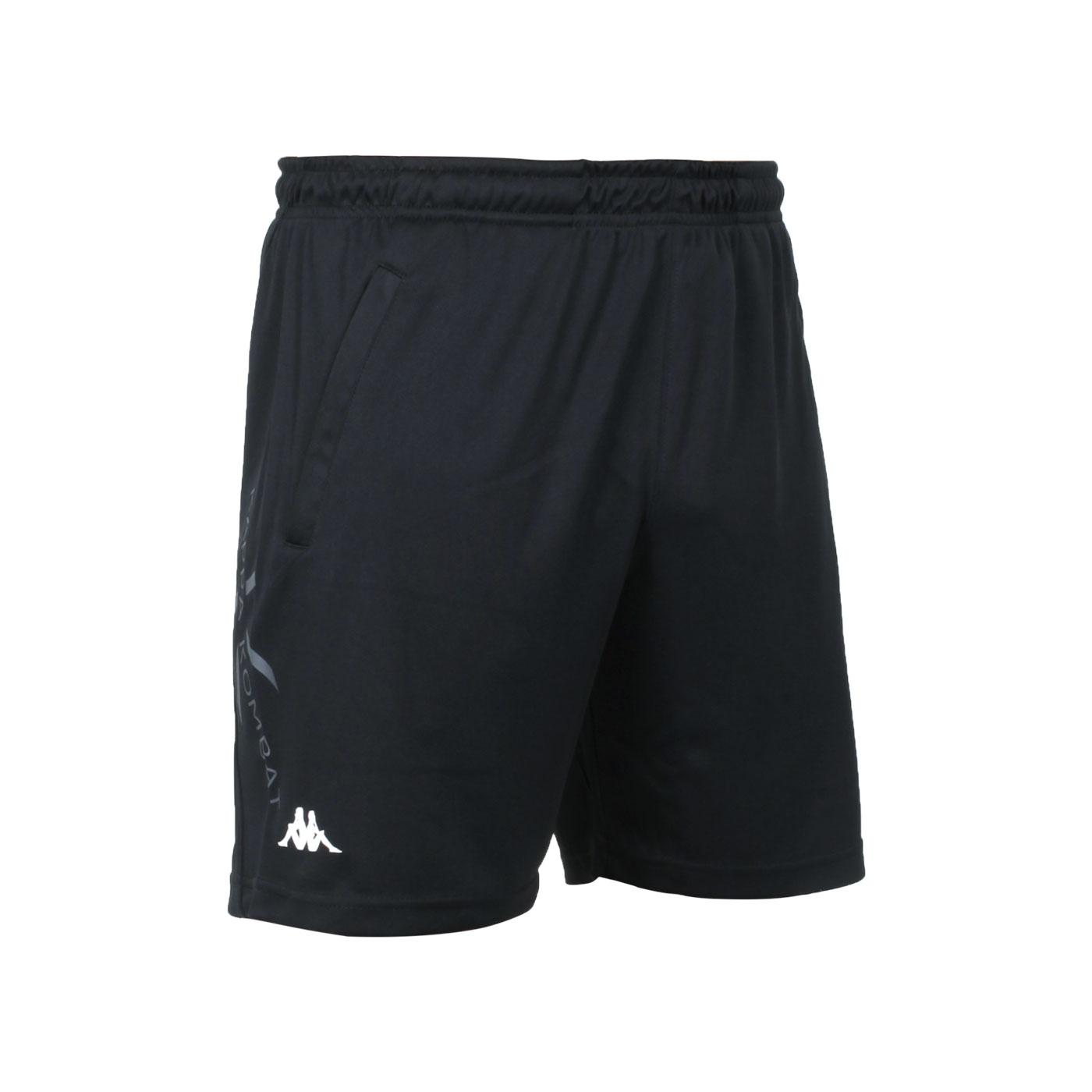KAPPA 男款K4T針織短褲 32166XW-005 - 黑