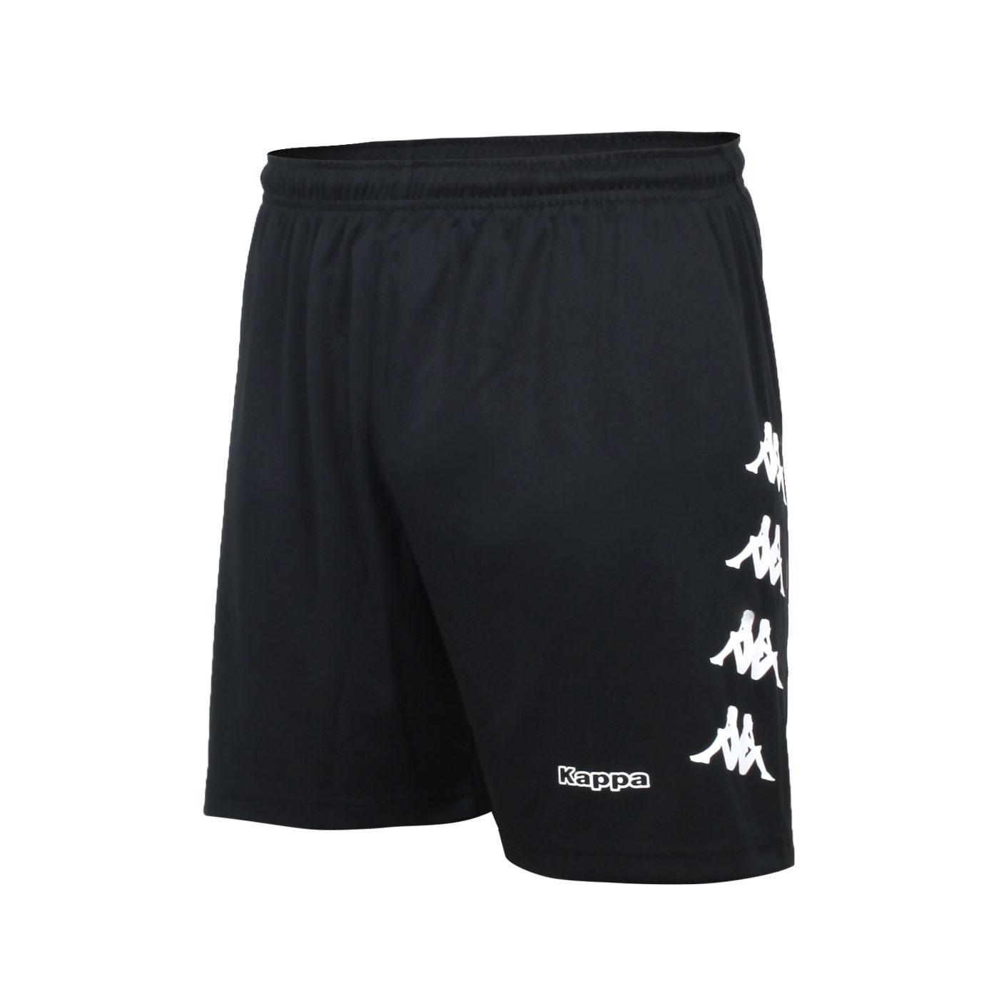 KAPPA 男款K4T運動針織短褲 32166YW-005 - 黑白