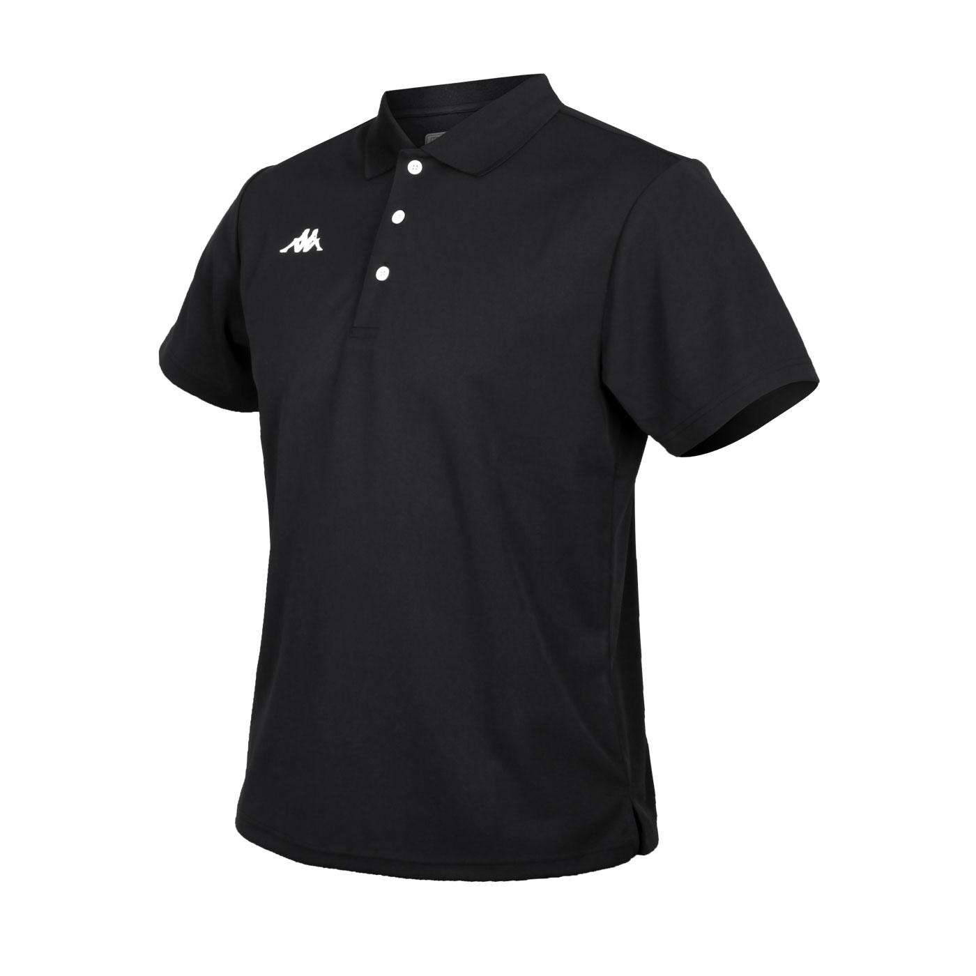 KAPPA 男款K4T短袖POLO衫 321762W-005 - 黑白