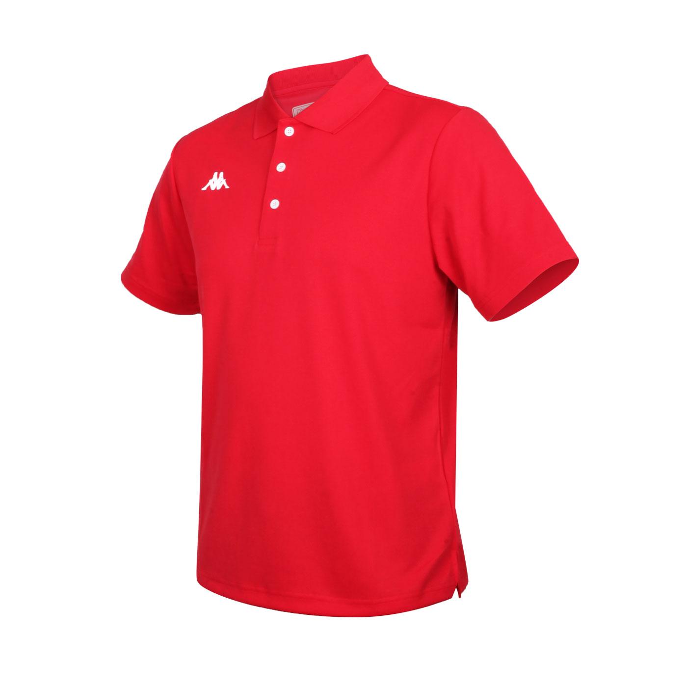 KAPPA 男款K4T短袖POLO衫 321762W-D18 - 紅白