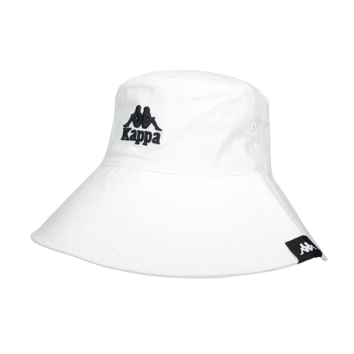 KAPPA 漁夫帽 32186JW-001 - 白黑