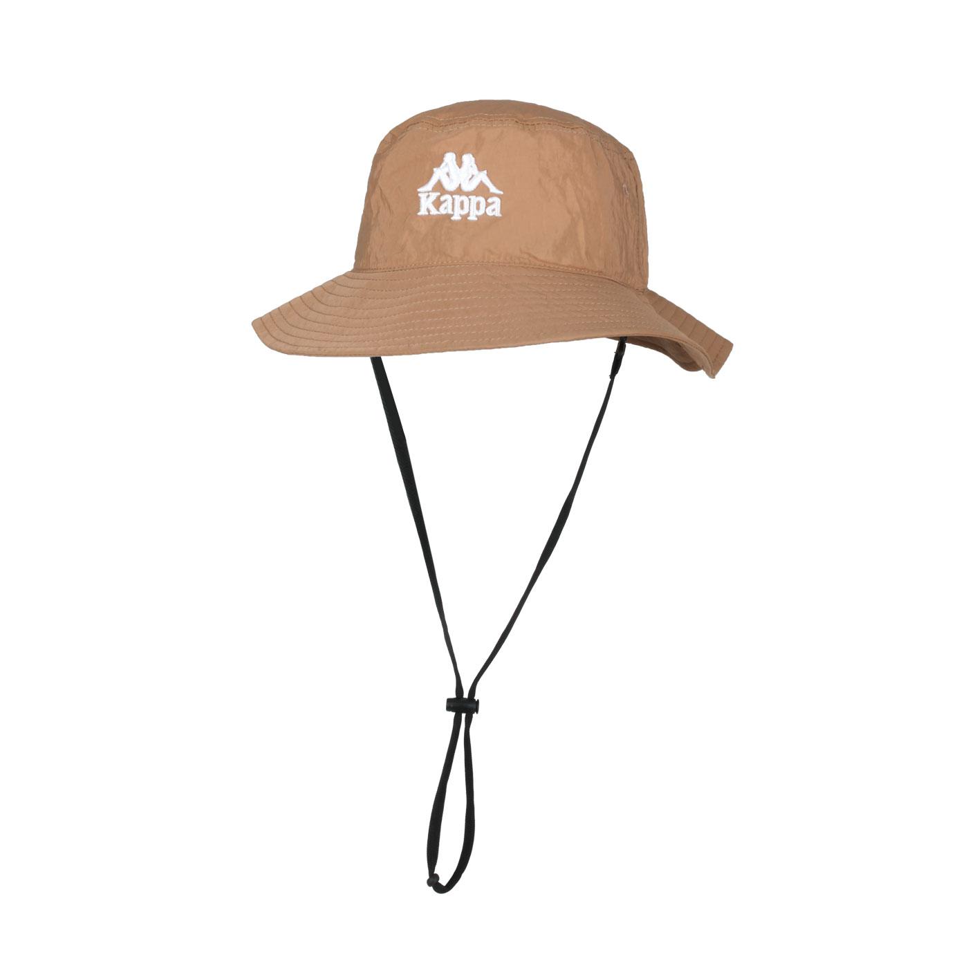 KAPPA 漁夫帽 32186KW-Z21 - 咖啡白
