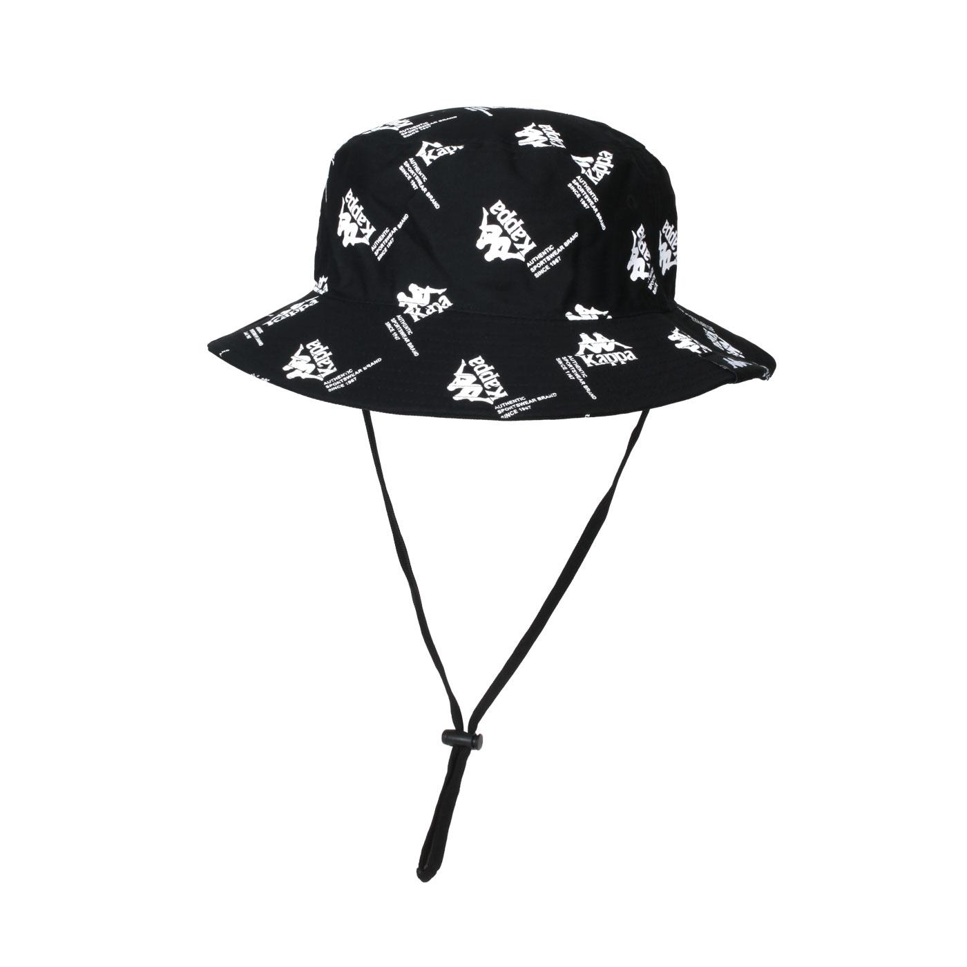KAPPA 漁夫帽 321937W-005 - 黑白