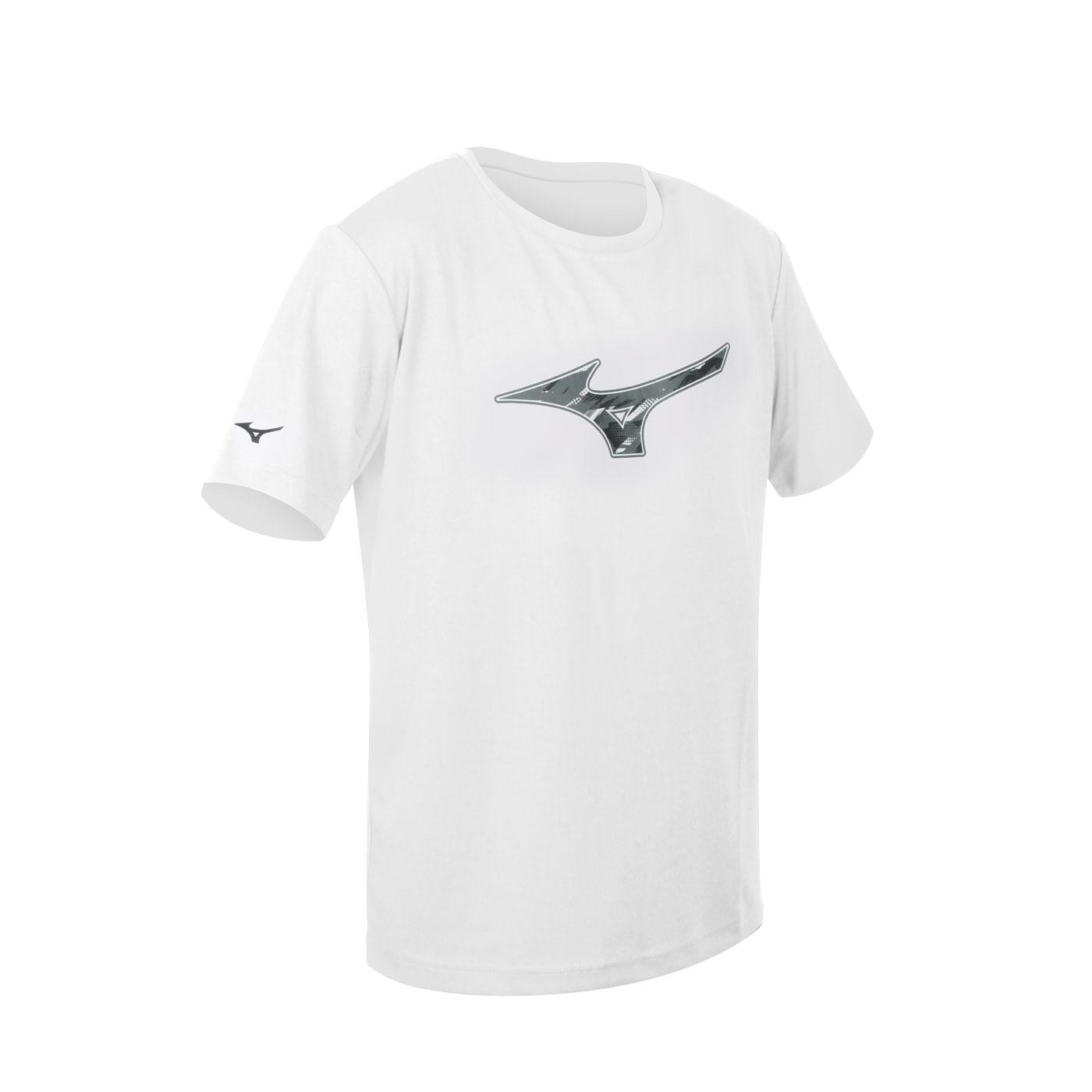 MIZUNO 男款短袖T恤 32TA100501 - 白黑灰