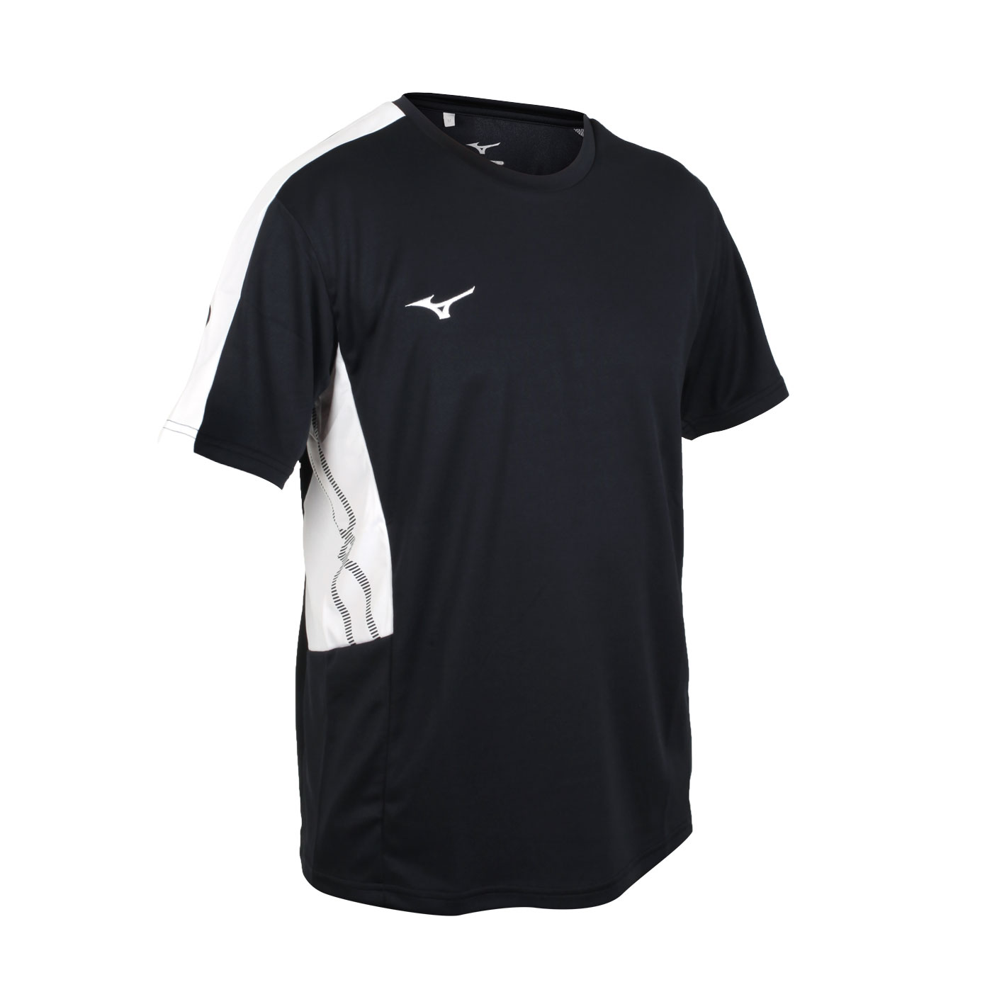 MIZUNO 男款短袖T恤 32TA101009 - 黑白