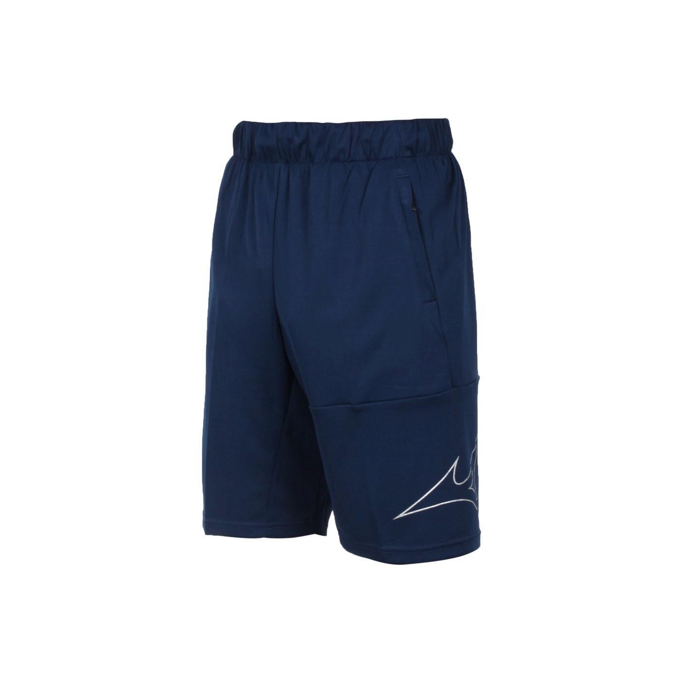 MIZUNO 男款針織短褲 32TB153114 - 丈青銀