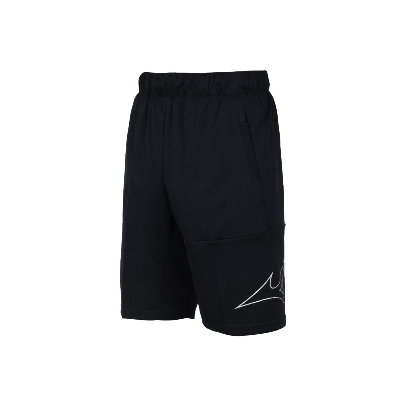 MIZUNO 男款針織短褲 32TB153190 - 黑白