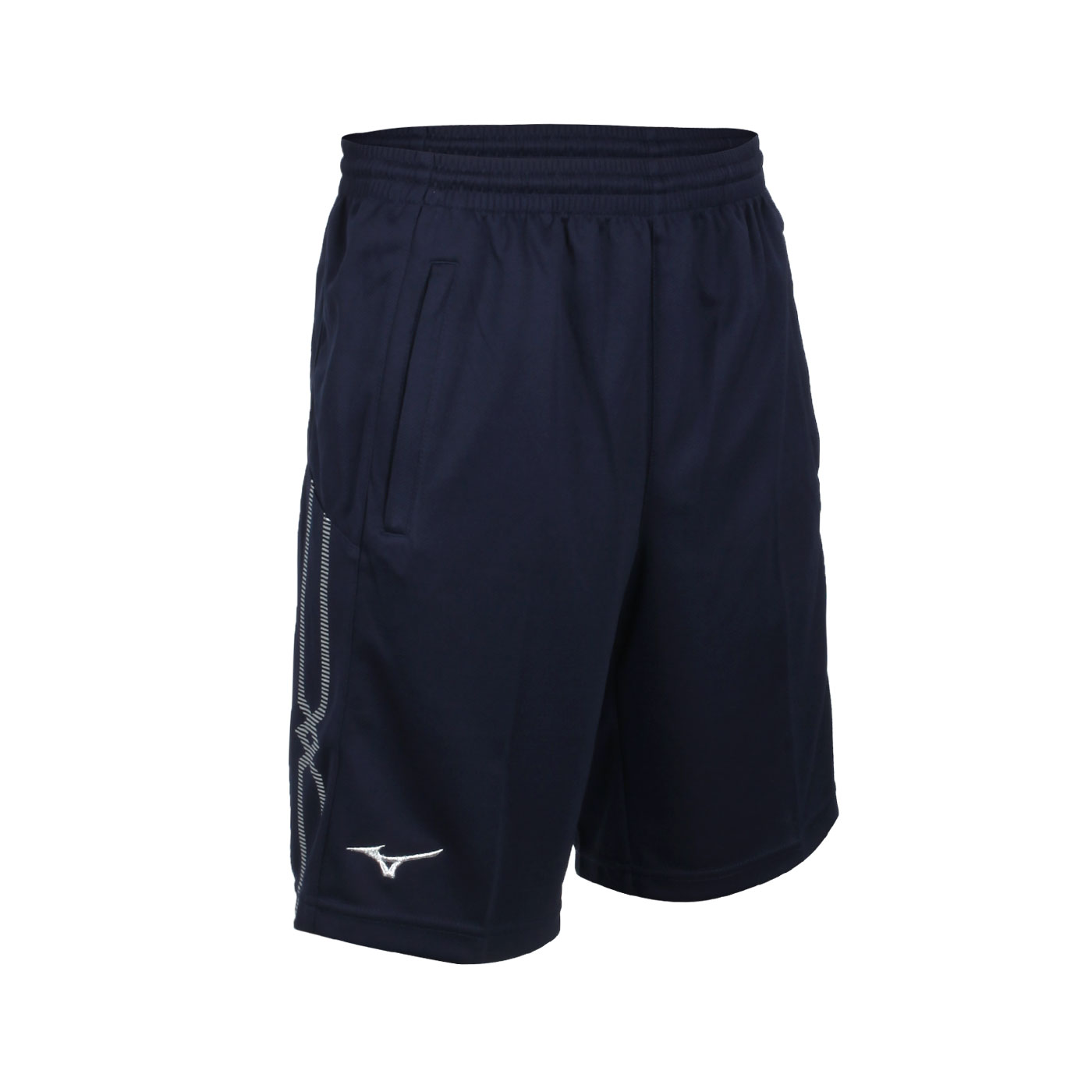 MIZUNO 男款針織短褲 32TB153214 - 丈青白