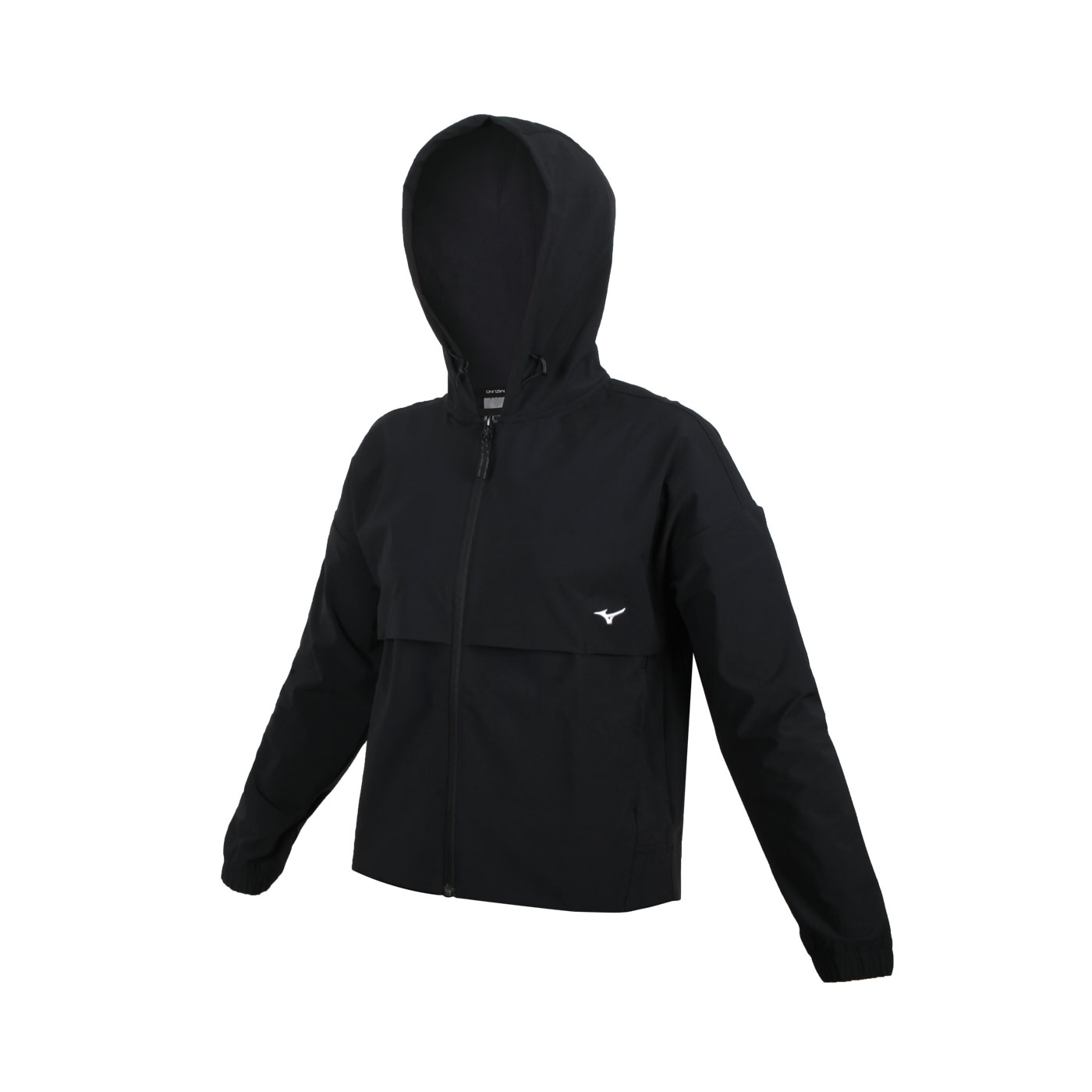 MIZUNO 女款平織外套 32TC127509 - 黑