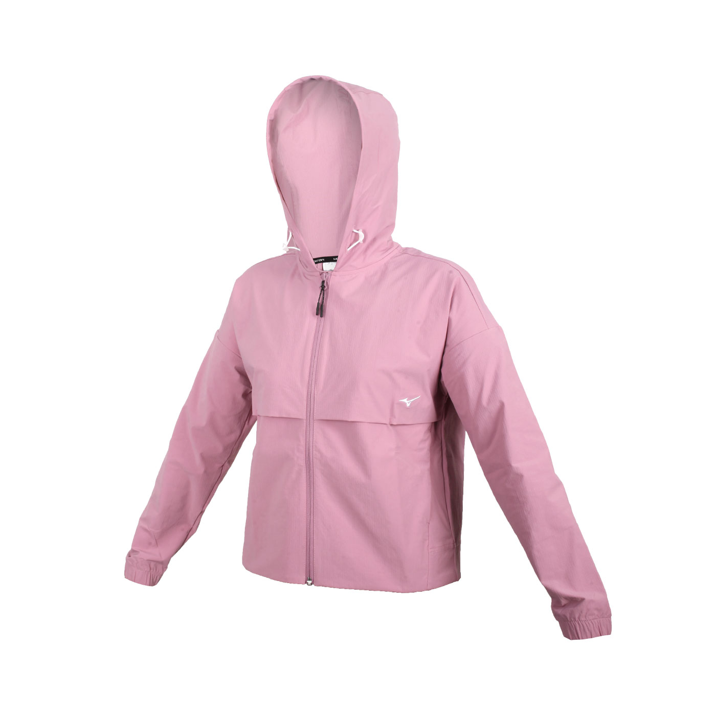 MIZUNO 女款平織外套 32TC127566 - 藕紫粉