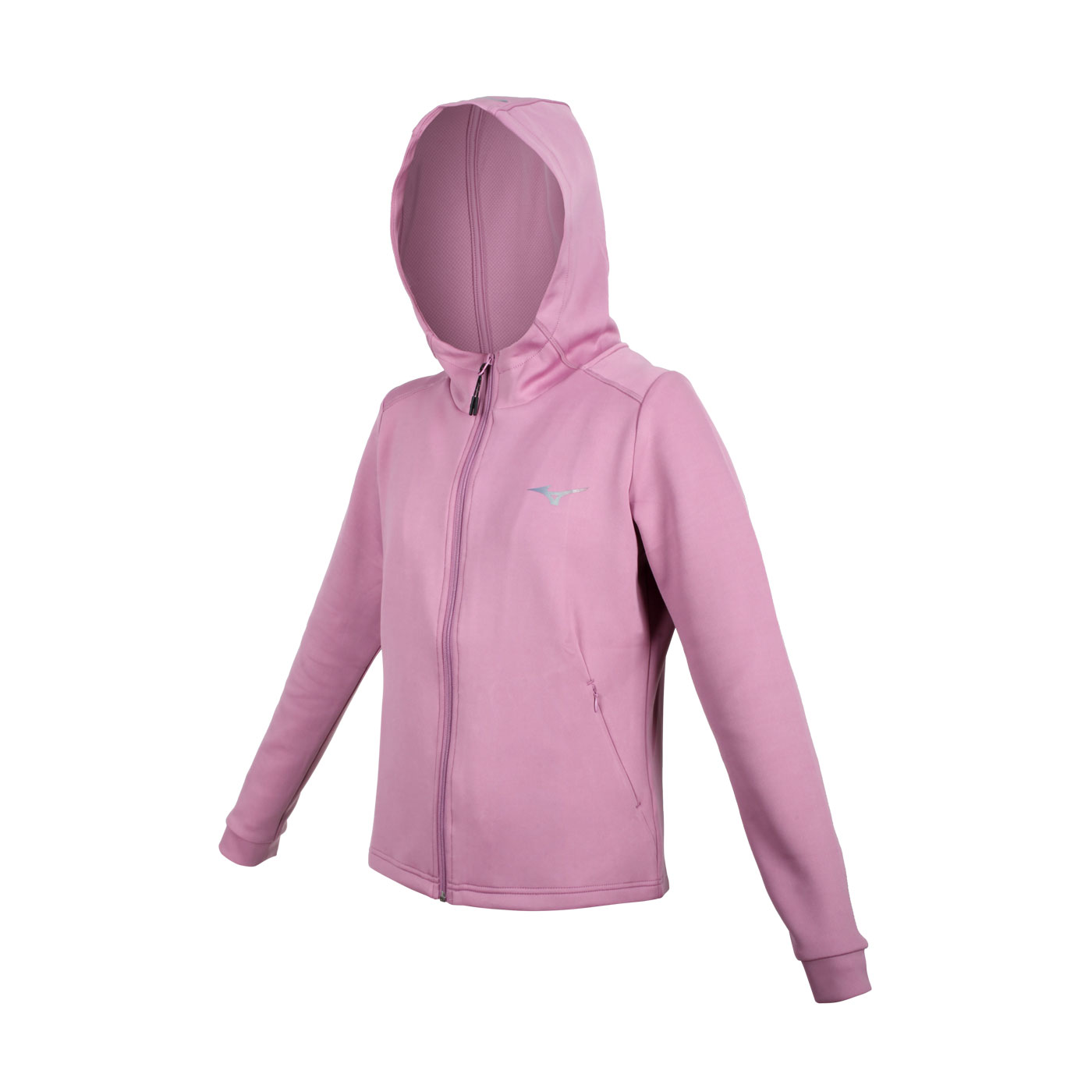 MIZUNO 女款針織外套 32TC128366 - 藕紫銀