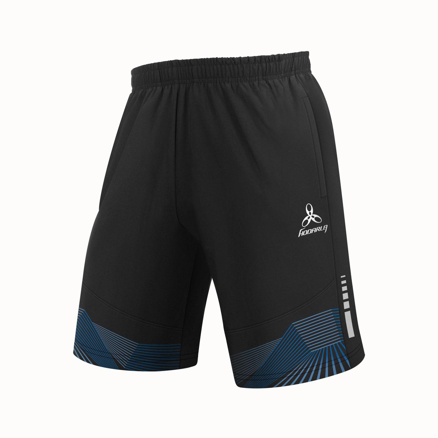 HODARLA 星光針織運動短褲 3306401 - 黑亮藍