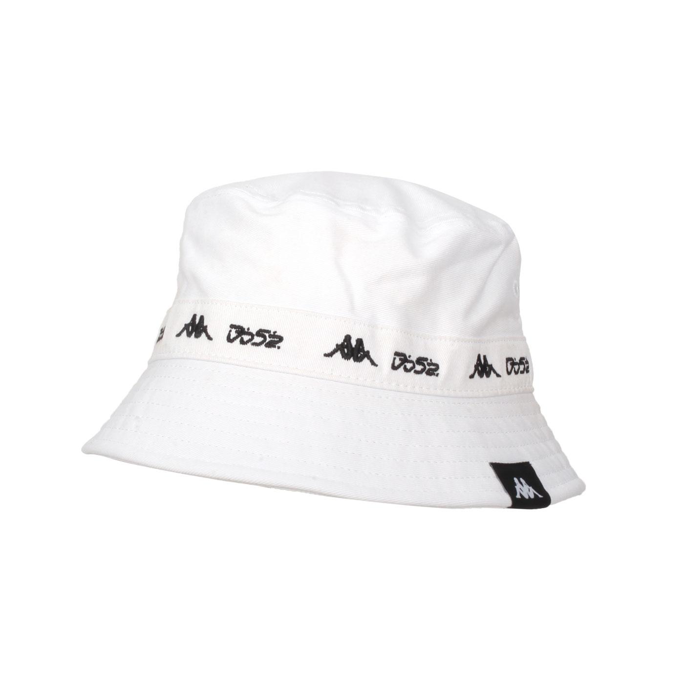 KAPPA DD52聯名漁夫帽 351462W-001 - 白黑
