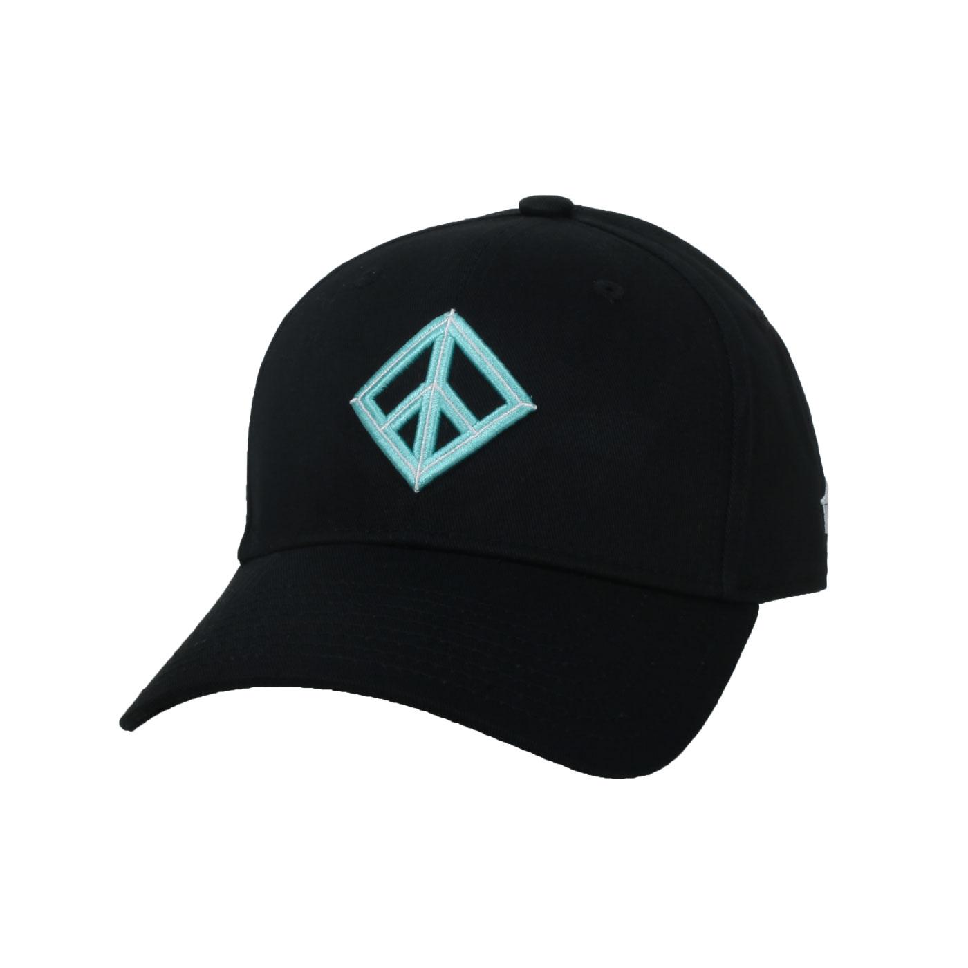 KAPPA DD52聯名球帽 35151EW-005 - 黑粉綠