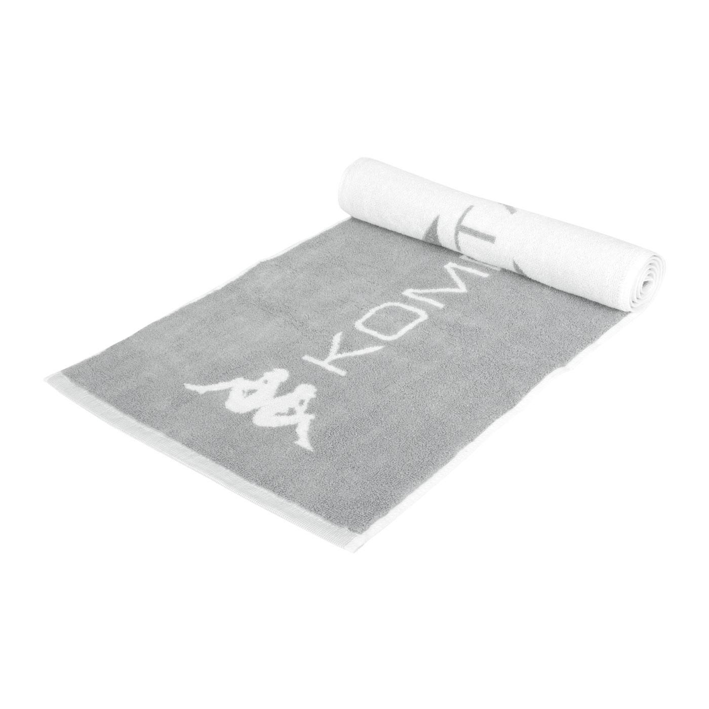 KAPPA 毛巾 351727W-04Y - 灰白