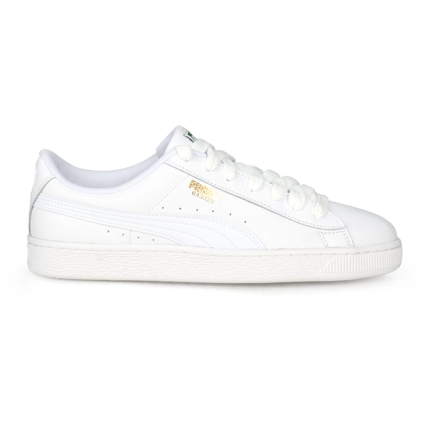 PUMA 經典復古休閒鞋  @BASKET CLASSIC LFS@35436717 - 白金