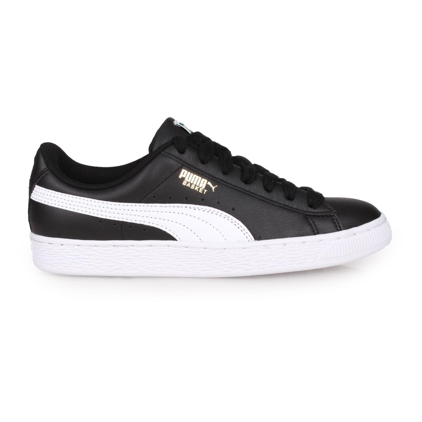PUMA 經典復古休閒鞋  @BASKET CLASSIC LFS@35436717 - 黑白