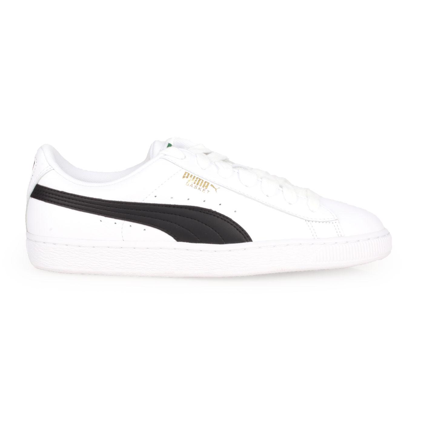PUMA 經典復古休閒鞋  @BASKET CLASSIC LFS@35436717 - 白黑