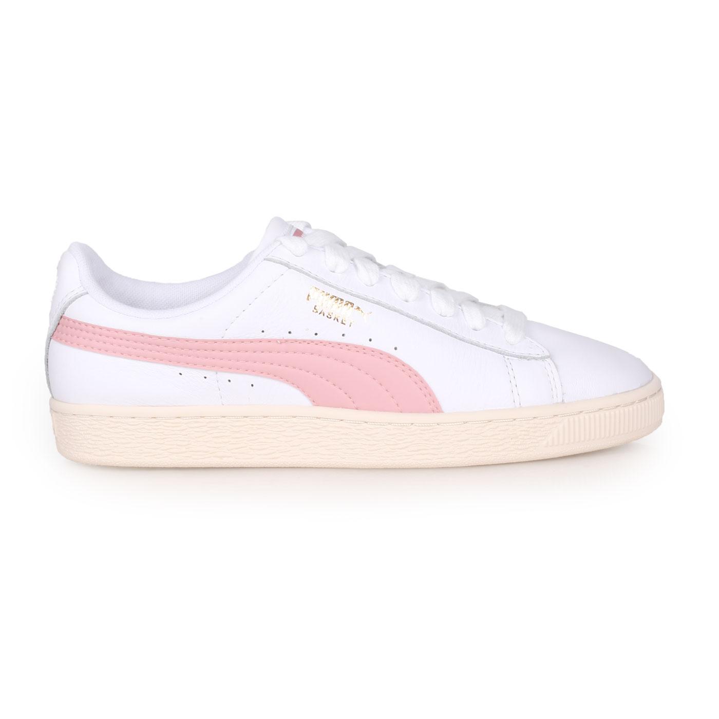 PUMA 經典復古休閒鞋  @BASKET CLASSIC LFS@35436717 - 白粉