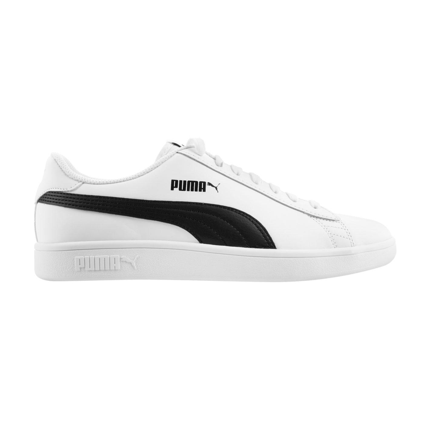 PUMA 男款休閒運動鞋  @Smash v2 L@36521501 - 白黑