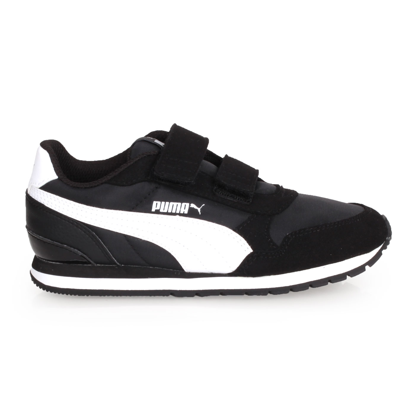 PUMA 中童復古慢跑鞋  @ST Runner v2 NL V PS@36529401 - 黑白