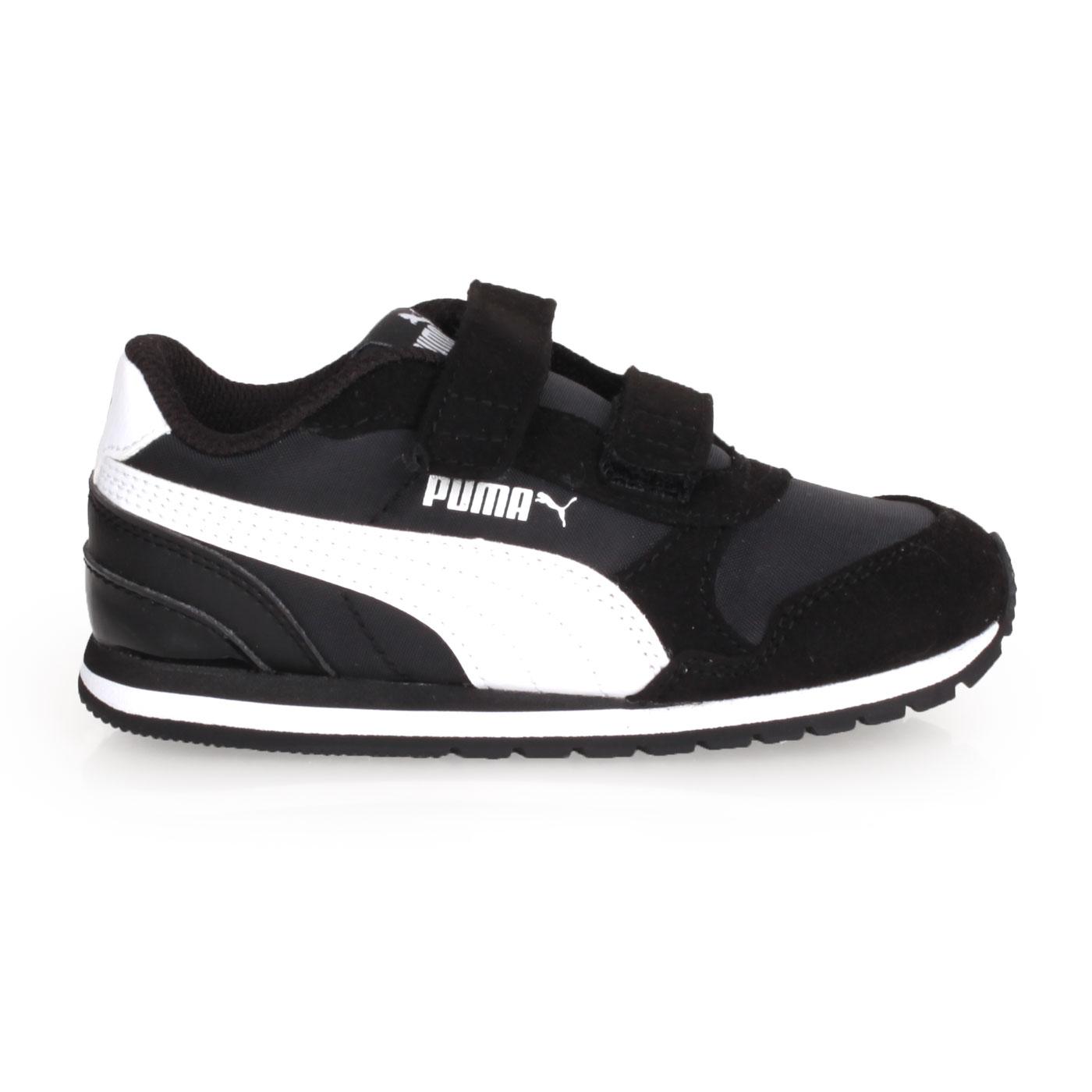 PUMA 小童復古慢跑鞋  @ST Runner v2 NL V  Inf@36529501 - 黑白