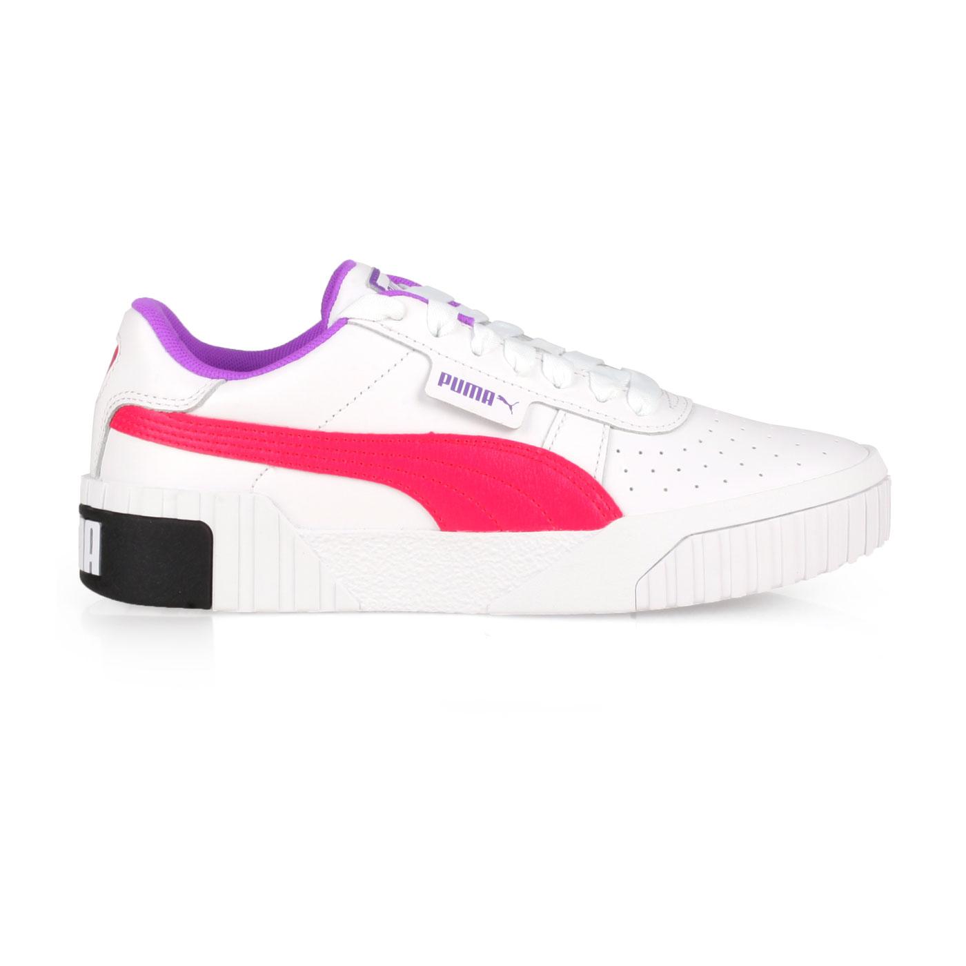 PUMA 女款休閒運動鞋  @Cali Chase Wn's@36997002 - 白桃紅紫