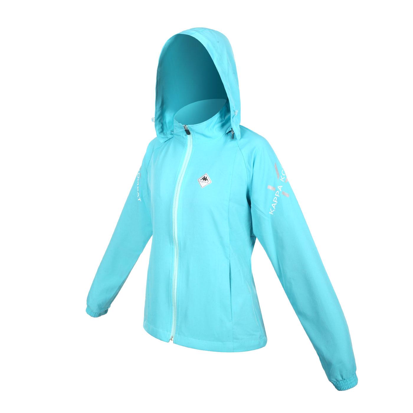 KAPPA 女款K4T單層風衣 37168PW-474 - 湖水藍綠