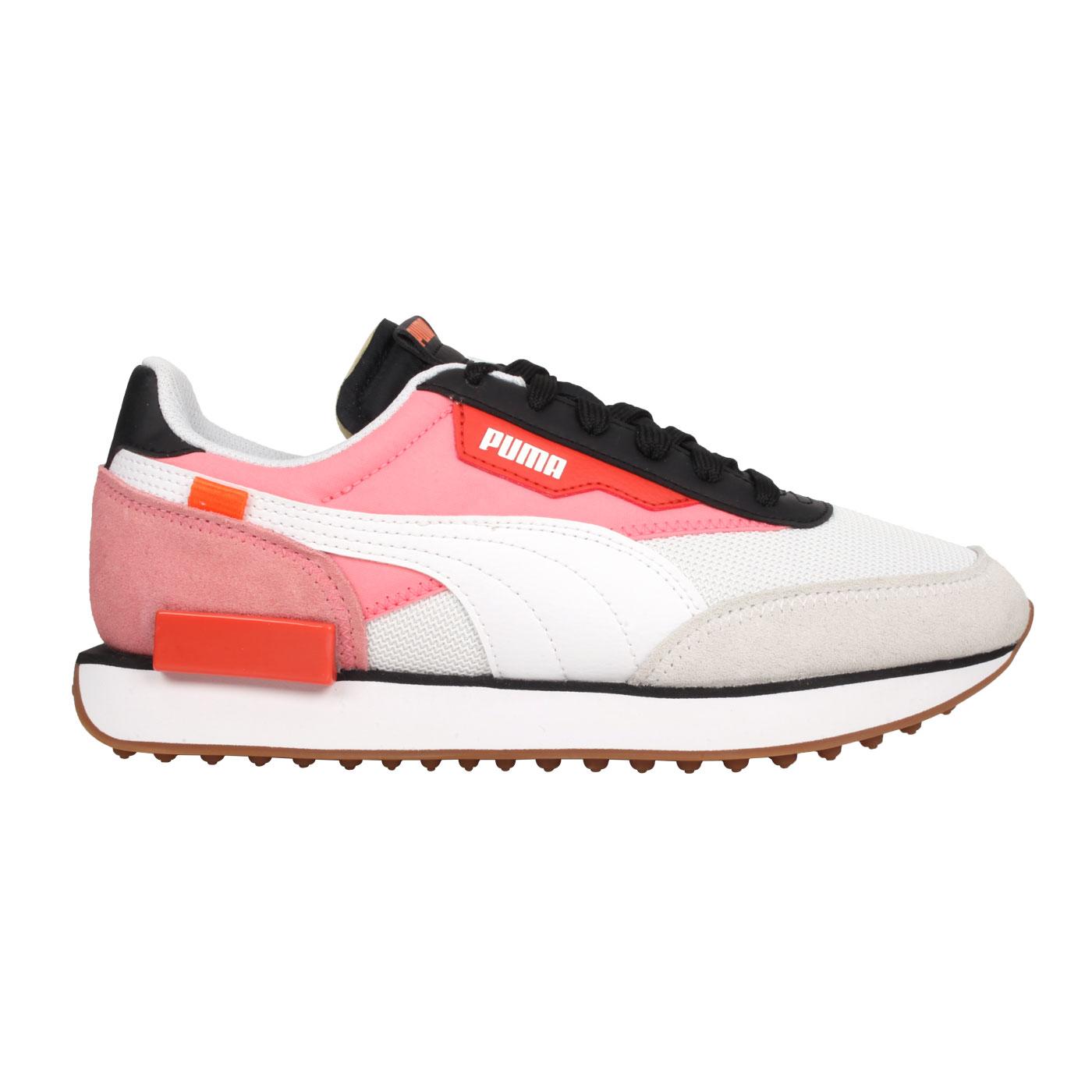 PUMA 女款復古慢跑運動鞋  @Future Rider New Tones@37338603 - 白粉黑橘