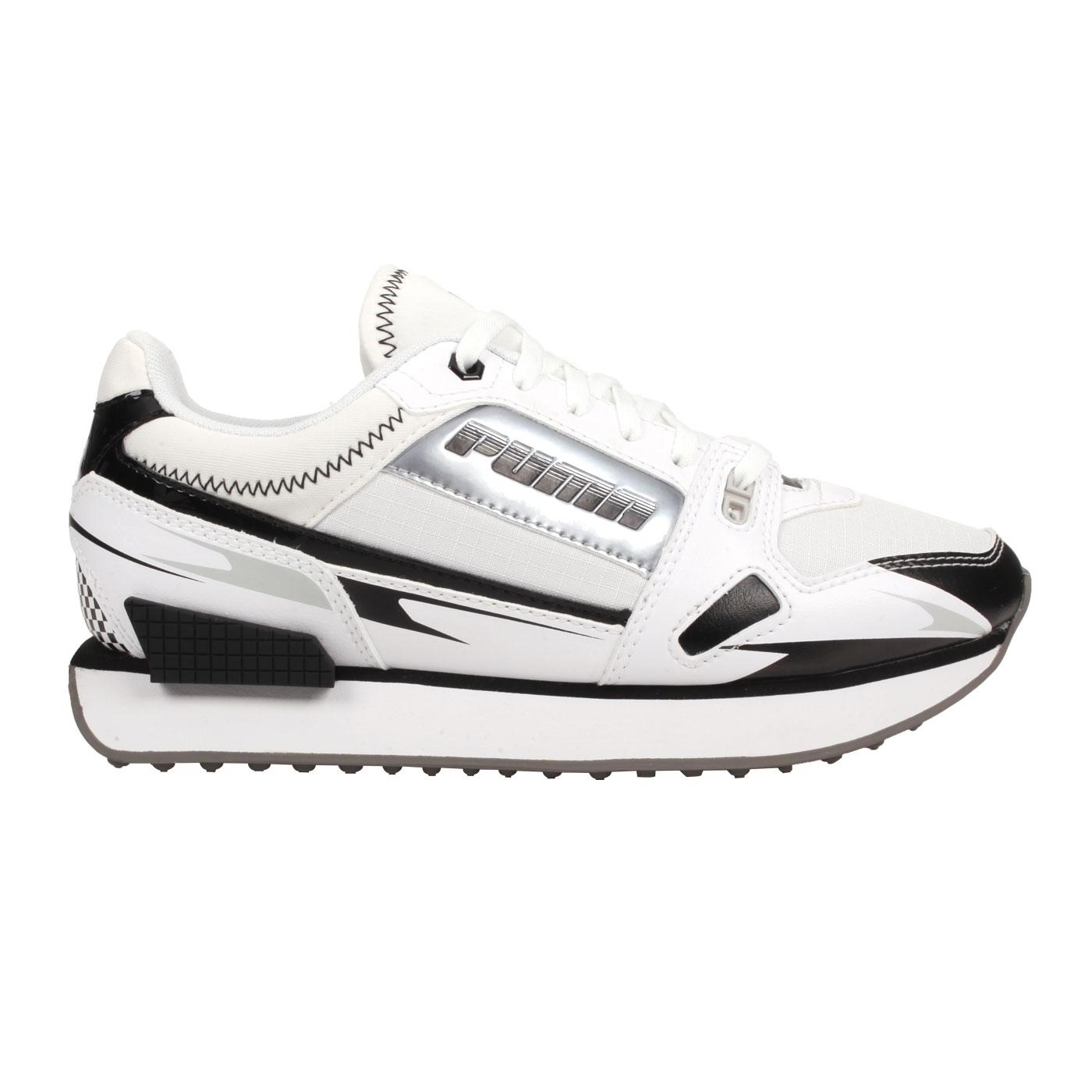 PUMA 女款休閒鞋 37344305 - 白黑