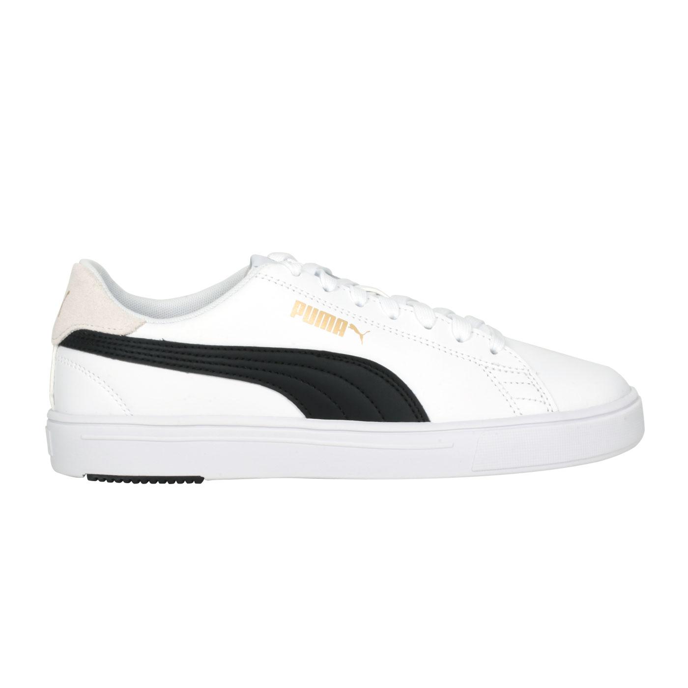 PUMA 男女休閒鞋  @Puma Serve Pro Lite@37490208 - 白黑金